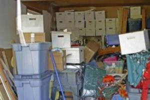 cleaning clutter
