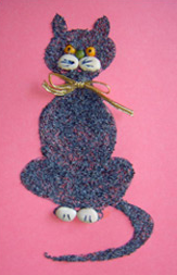 Winter Craft Ideas - Poppy Seed Cat