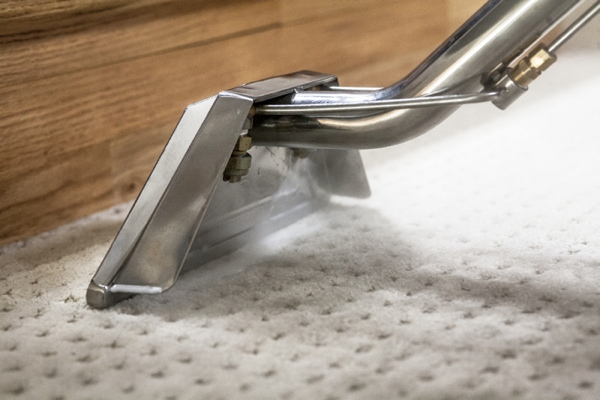Using a steam cleaner is a great way to get carpets truly clean.