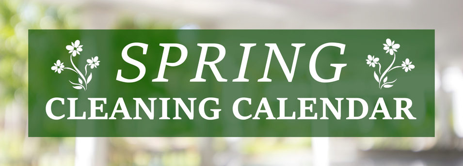 Spring Cleaning Calendar COIT