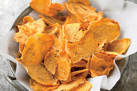 Wgetable Meal Ideas - Sweet Potato Chips