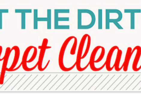 Get the Dirt on Carpet Cleaning