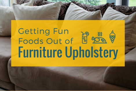 Getting Fun Foods Out of Furniture Upholstery