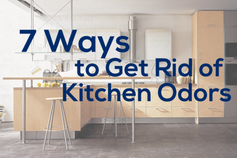 how to get rid of kitchen odors | COIT
