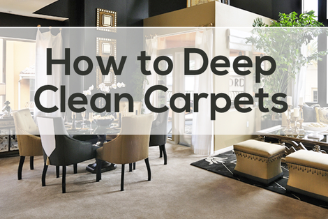 How to Deep Clean Carpets
