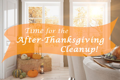 Time for the After Thanksgiving Cleanup