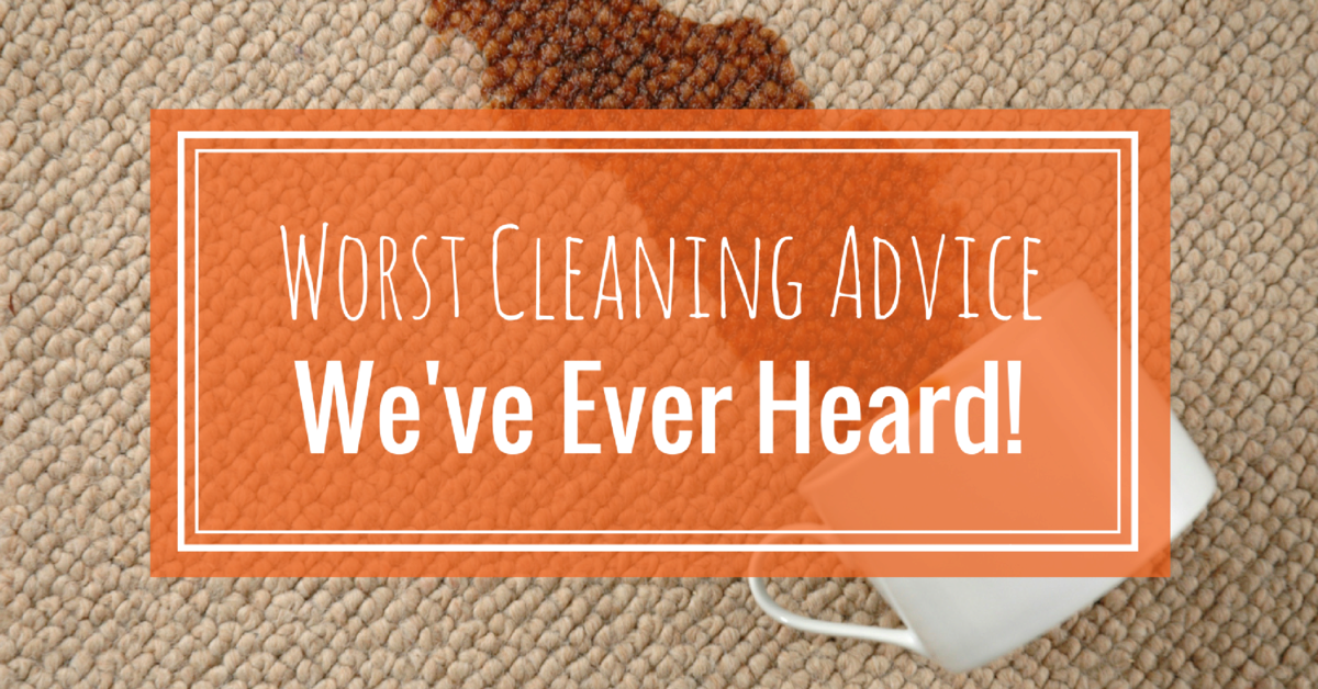 The Worst Cleaning Advice We Ve Ever Heard Coit