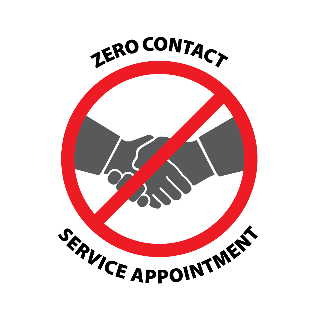 Zero Contact Service Appointment