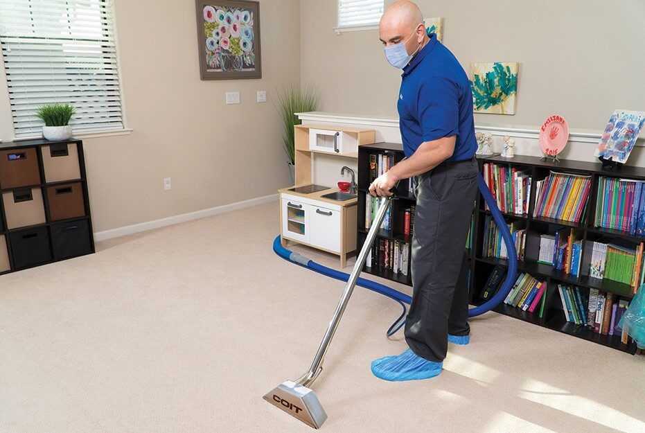 Coit Cleaner Cleaning Carpet